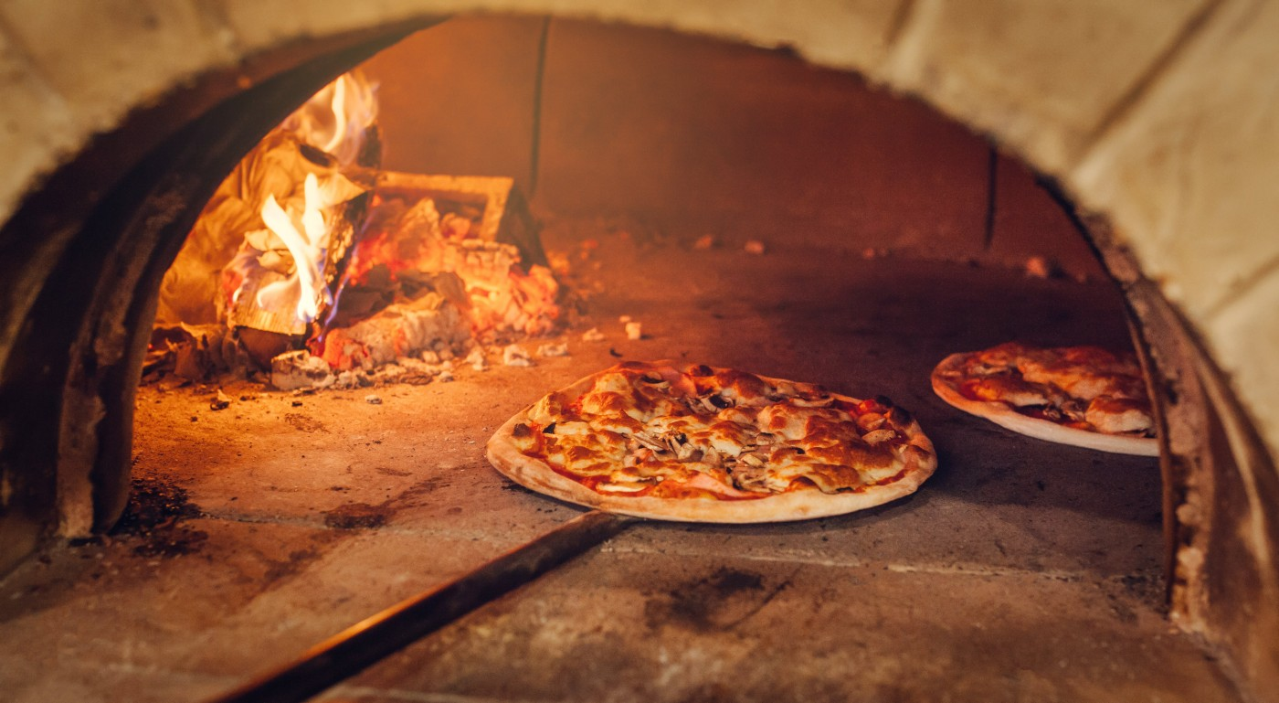 pizza, cuptor pizza, foc