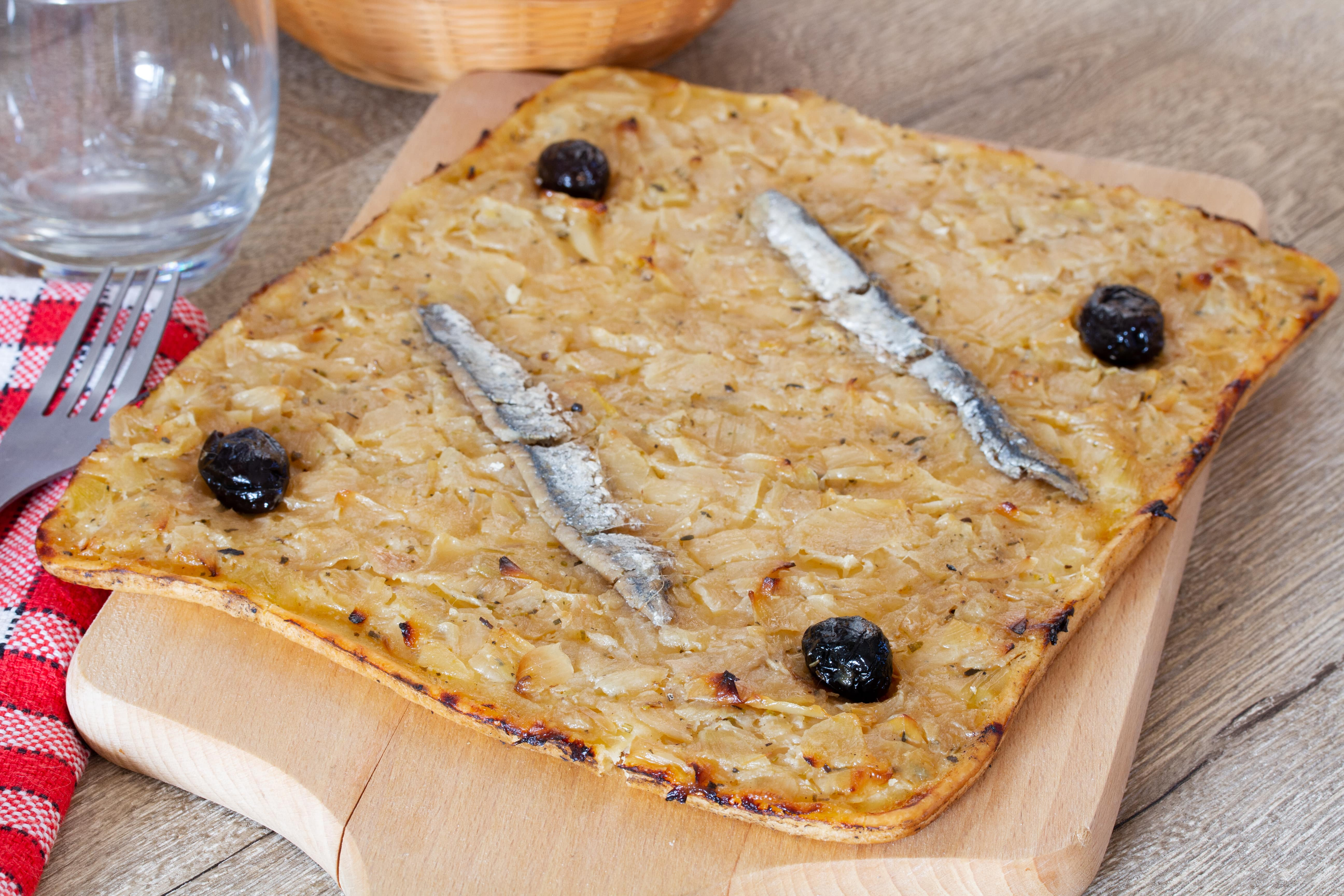 pizza, france, pissaladiere