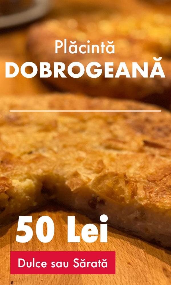 Comandă acum Dobrogeana la cuptor, cu ingrediente delicioase ➢ Livrare rapidă în municipiul Brasov și împrejurimi.